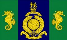 ROYAL MARINES LOGISTIC REGIMENT - 5 X 3 FLAG